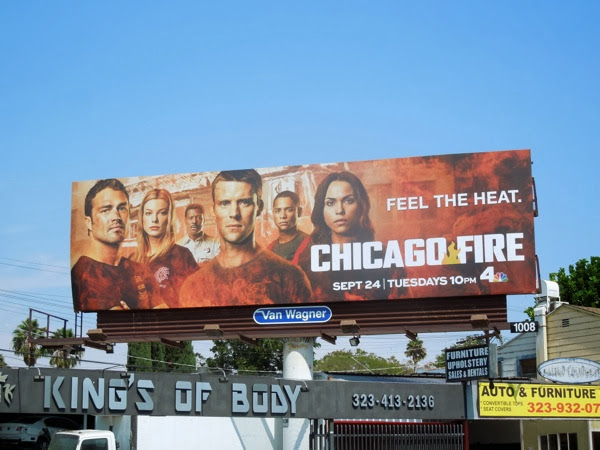 Chicago Fire season 2 billboard