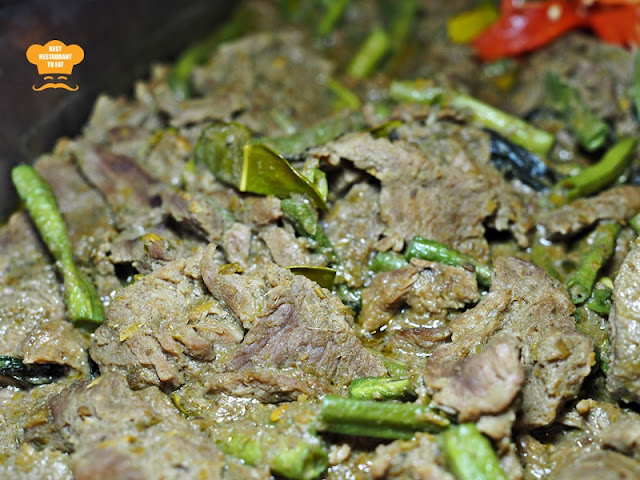 Stir Fried Beef in Green Curry,  Putrajaya Ramadhan 2018 Buffet - Aroi Dee