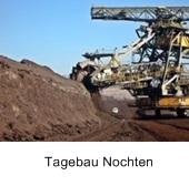 węgiel brunatny, niemcy, tagebau, nochten, maszyny
