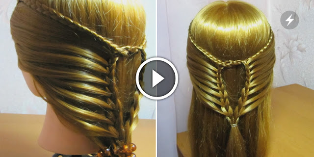 Learn, How To Make Simple And Easy Braid Hairstyle - See Tutorial