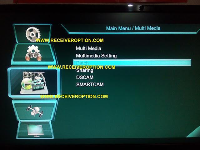 MULTI MEDIA HD RECEIVER NEW SOFTWARE
