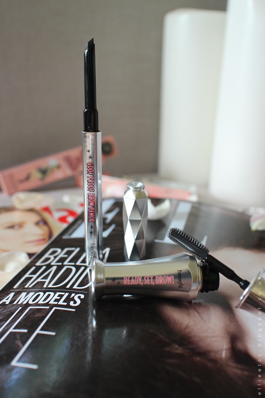 free, freebie sample, beauty, Benefit, brow, eyebrow, Ready Set Brow, Goof Proof Brow Pencil, brow pencil, cosmetics, magazine, ELLE, Maire Clare,
