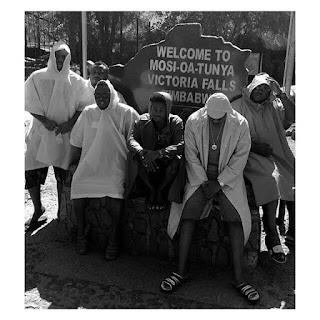 (PHOTOS) Don Jazzy, Korede Bello, Dr Sid & Mavin Crew Visit To Victoria Falls