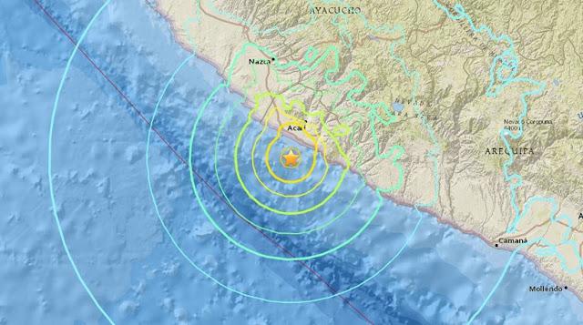 Ισχυρός σεισμός 7,3 Ρίχτερ στο Περού - Προειδοποίηση για τσουνάμι