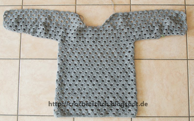 Crochet Knitting Stitch Pullover Aus Simply Häkeln