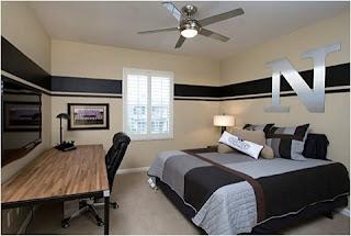 Dormitorio joven moderno