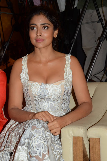 Shriya Saran Hot Stills at Paisa Vasool Audio Success Meet