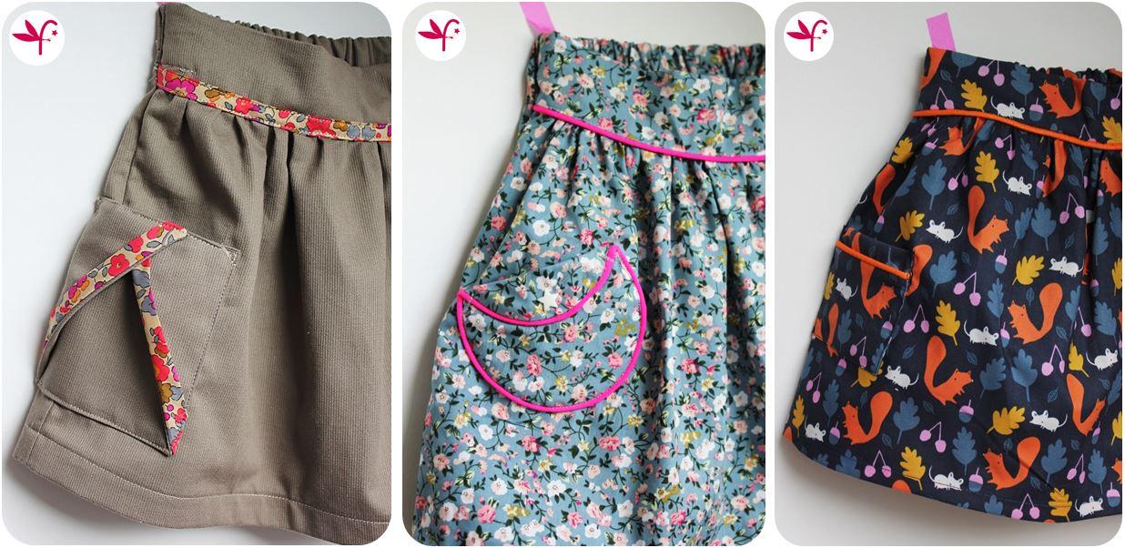 Tuto jupe - Tuto jupe facile elastique ...