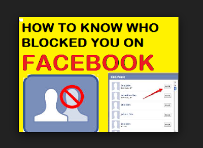 See Your Blocked List On Facebook - How To
