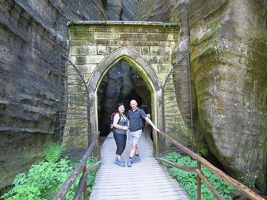 Gotycka brama (czes. Gotická brána).