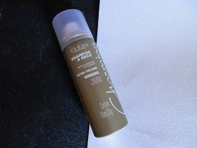 Resenha: Shampoo a seco - extra volume da Charming