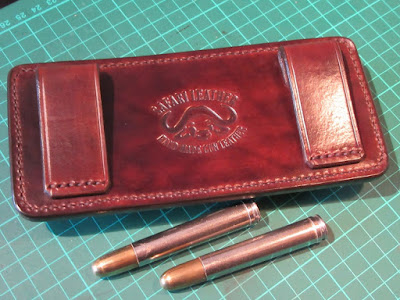 Hand made gun leather