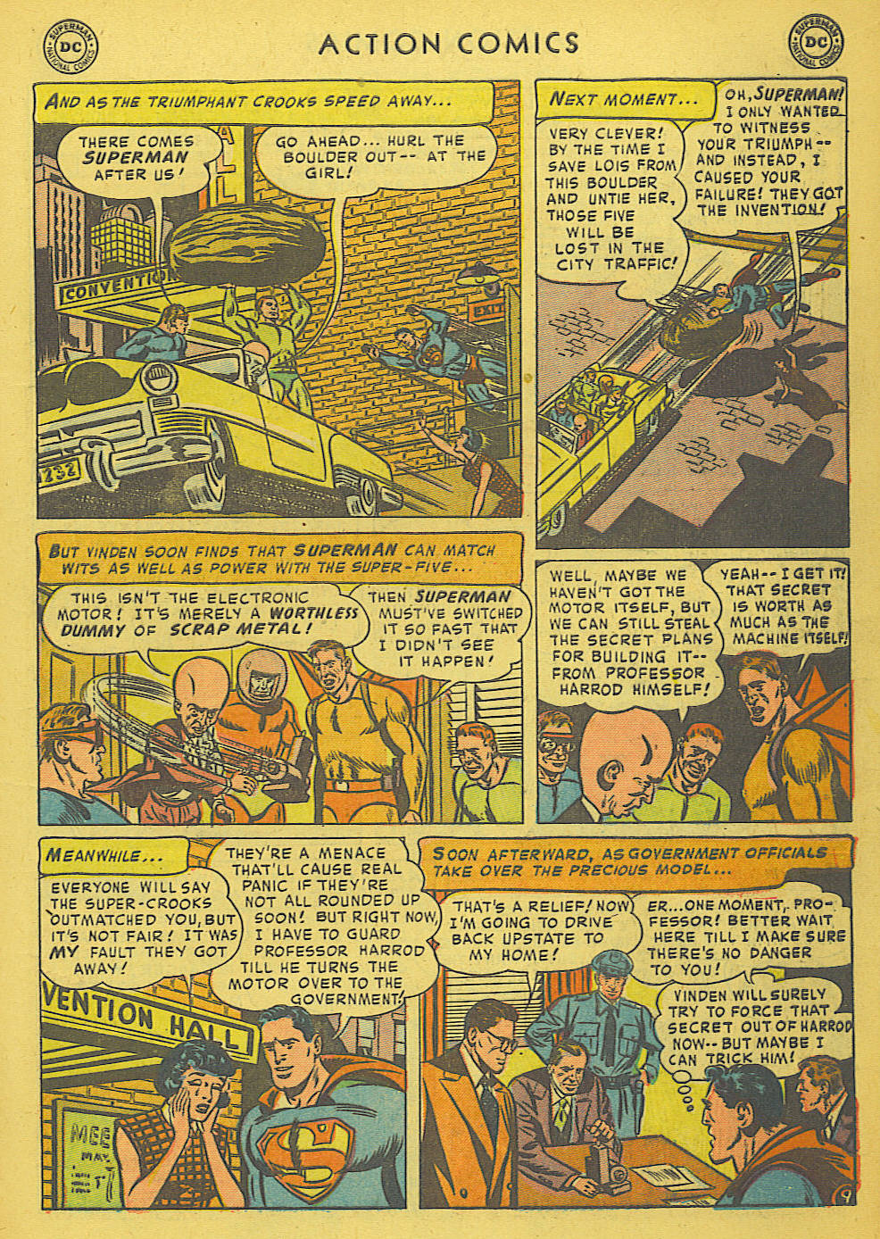 Read online Action Comics (1938) comic -  Issue #175 - 11