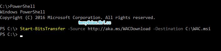 Terry L@u's blog: Installation Windows Admin Center (WAC) on