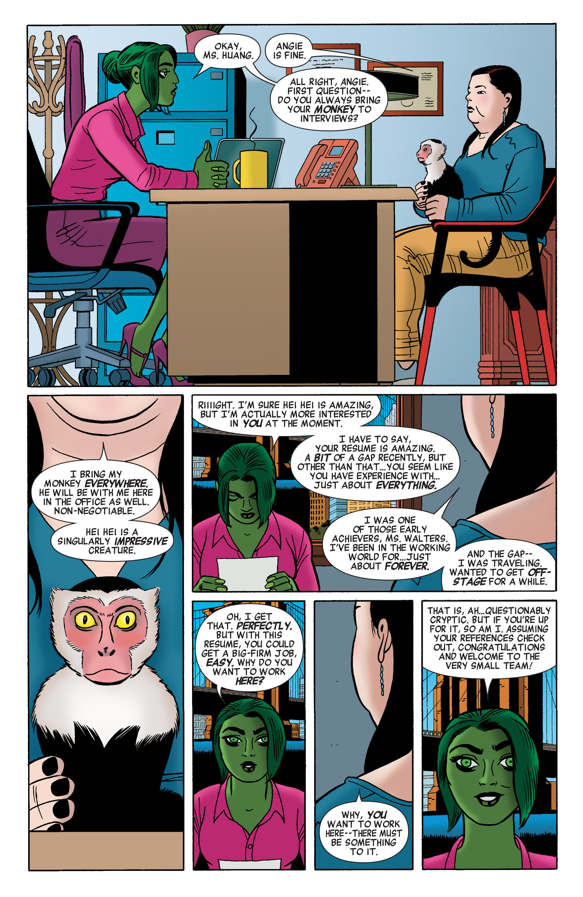 Read online She-Hulk (2014) comic -  Issue #2 - 7