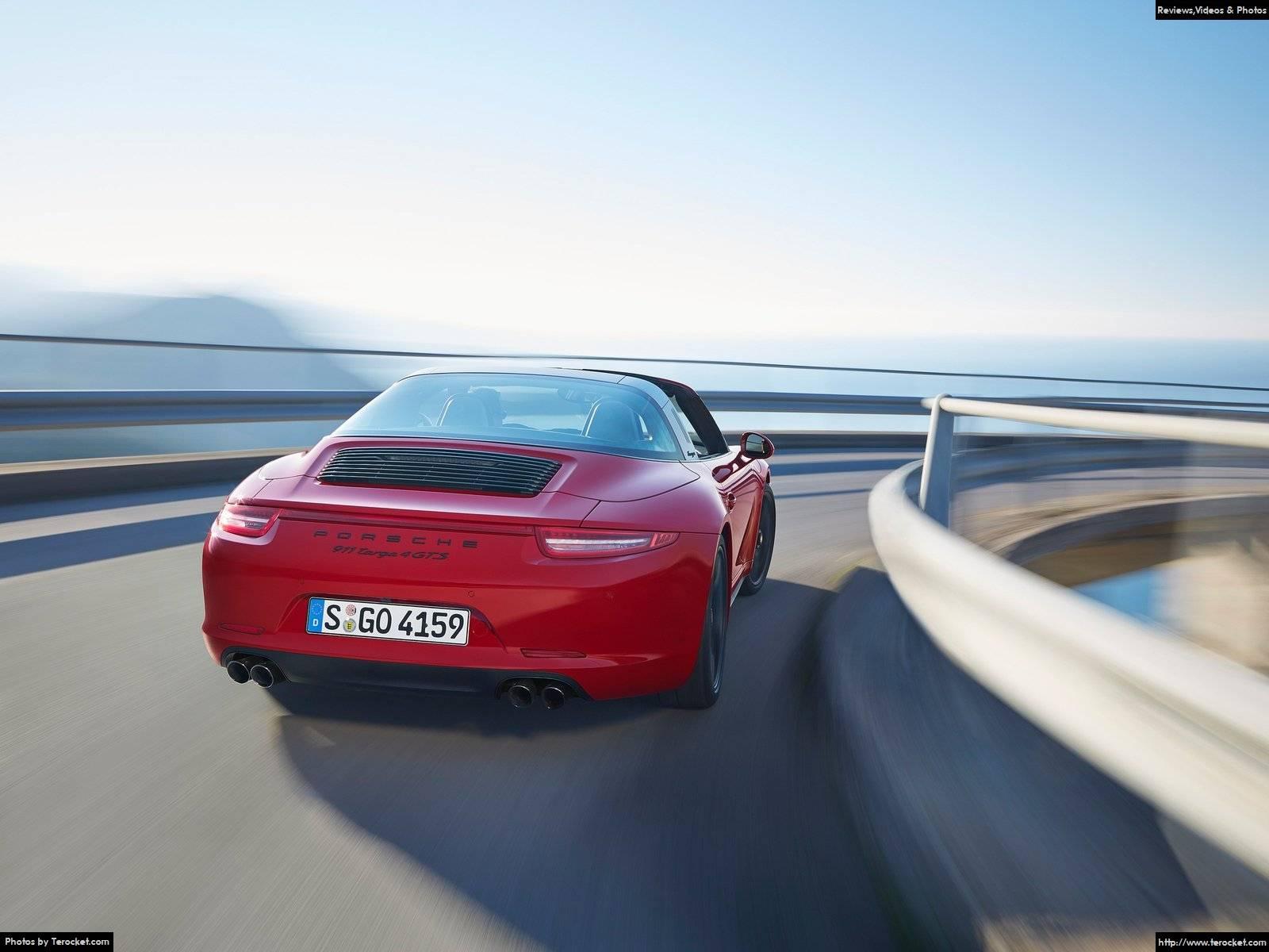Hình ảnh xe ô tô Porsche 911 Targa 4 GTS 2016 & nội ngoại thất