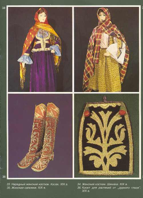Azerbaijan National Clothes Traditional Clothing Of The