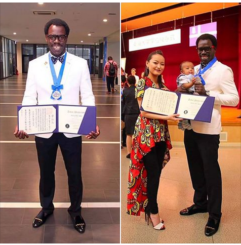 The Nigerian Genius Who Broke A 50-Year Record In Japan Has Done It Again (See Photos)
