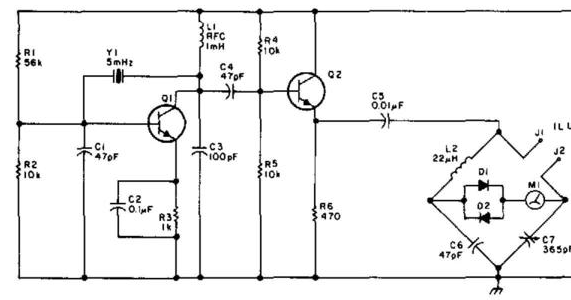 Wiring & diagram Info: Simple Inductance Bridge Wiring