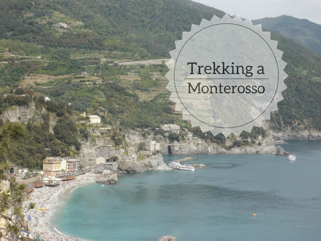 Trekking alle Cinque Terre da Monterosso a Levanto. Veduta di Monterosso