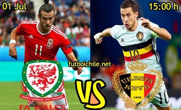 VER STREAM RESULTADO EN VIVO, ONLINE: Gales vs Bélgica