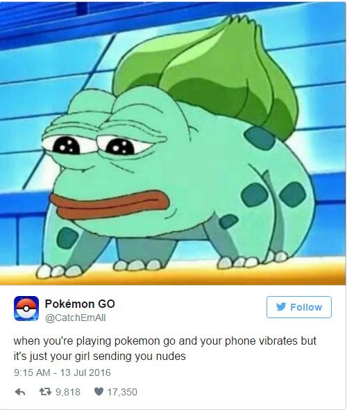 9 Funny Tweets About Pokemon GO 9