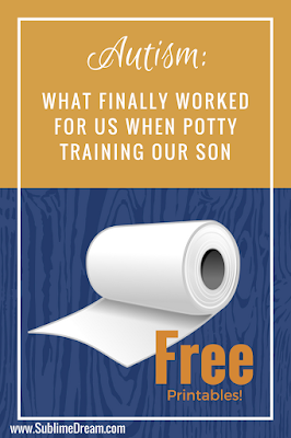 Have you tried everything you can think of to potty train a child with Autism?  At a loss?  Check out this freebie, it's what worked for my son on the spectrum!
