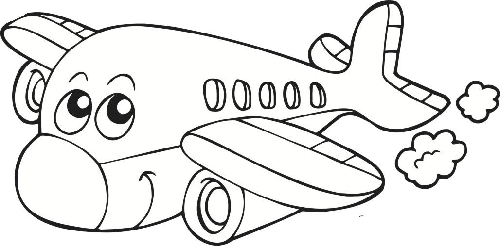 Desenho De Aviao Infantil Colorido Melhores Casas De Todas As