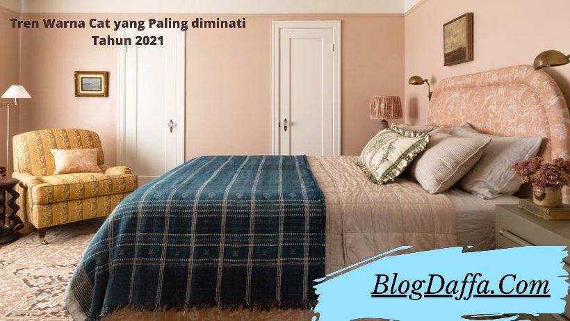 Warna cat kamar tidur paling diminati