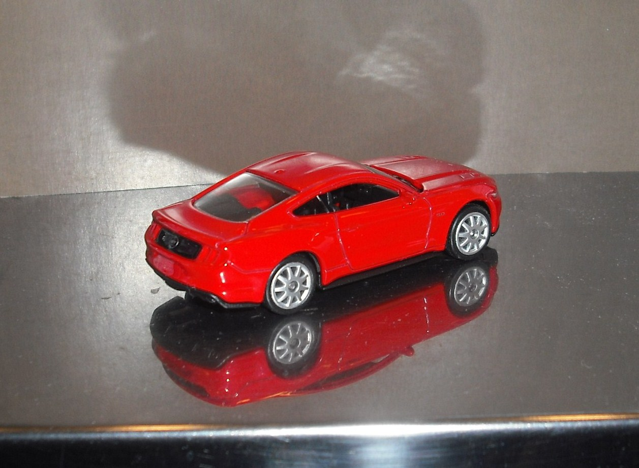 Miniaturas De Autom 243 Viles Ford Mustang 2015 Escala 1