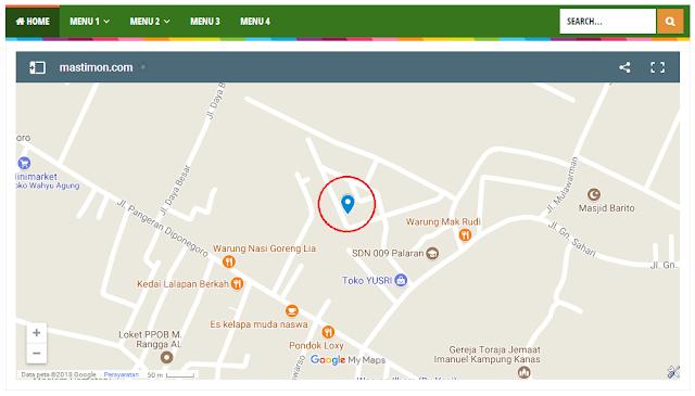 Cara mendaftarkan dan menambahkan Google Maps di Blog/Web