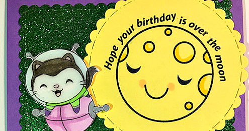 Over The Moon Birthday