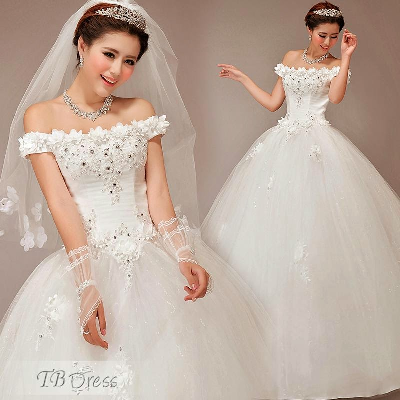 Wedding Ball Gowns 2014: Fashion With Fitness: Wedding Ball Gowns By Tbdress