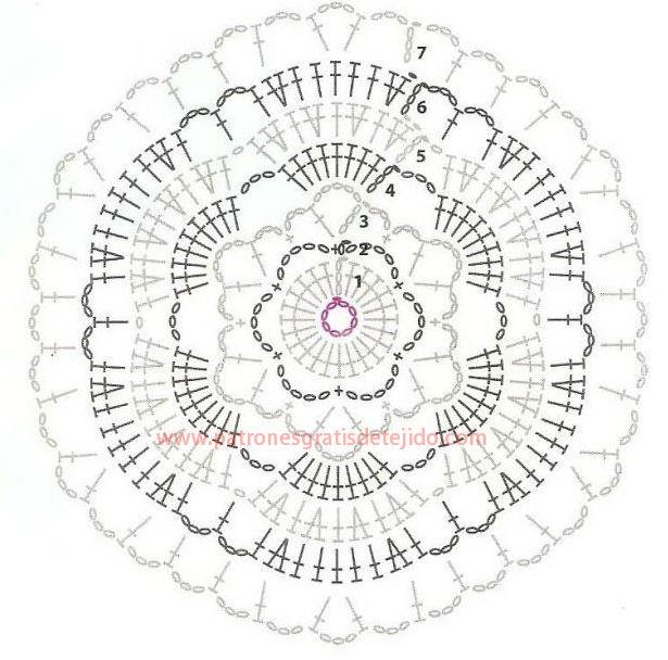 Musculosa Crochet con Motivos Hexagonales / Explicación en Español ...