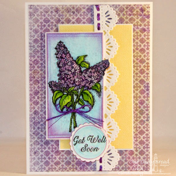 Our Daily Bread Designs, Lilac, Ornate Frame Sentiments, Christian Faith Collection, Beautiful Borders die