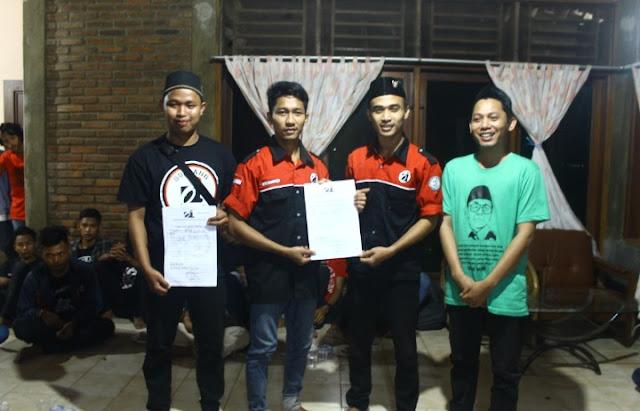 Penyerahan SKPPK dan TDK oleh Ketua BPK Oi Pandeglang kepada Ketua PK Oi Doblang