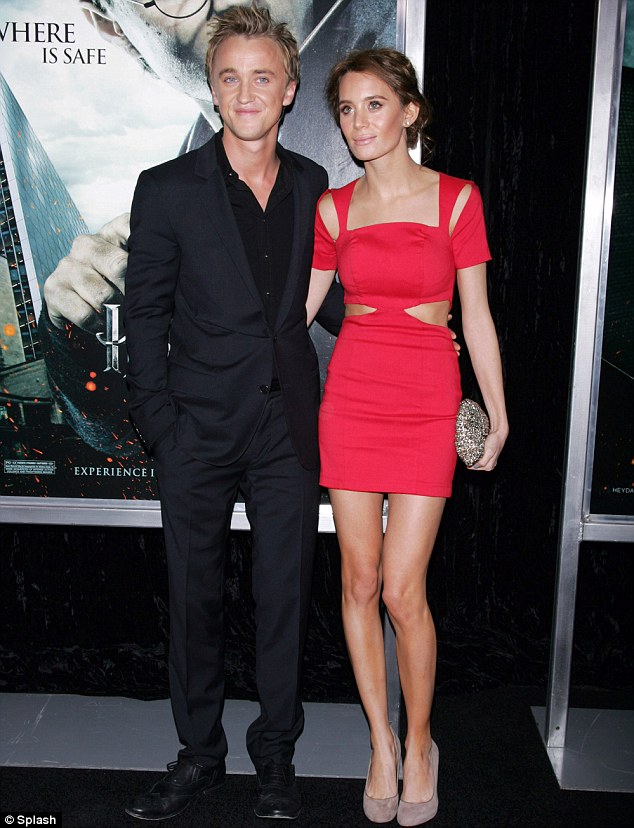 who is tom felton dating 2012