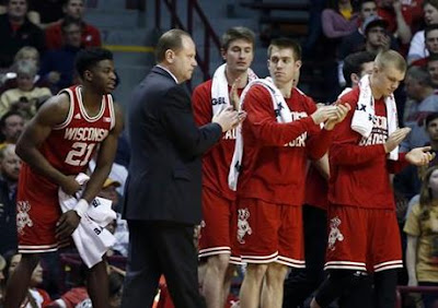 NCAAB : Wisconsin Visits Michigan in Big Ten Battle