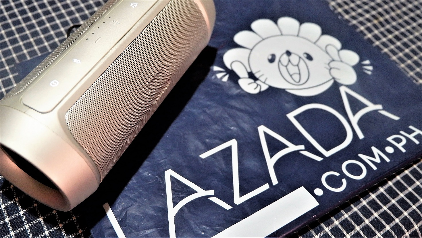 Product Review: LAZADA Splash-proof Bluetooth Wireless Speaker