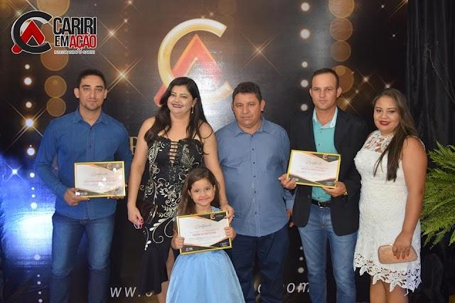 Personalidades Amparenses receberam o Prêmio Referência 2018 realizado no ultimo sábado