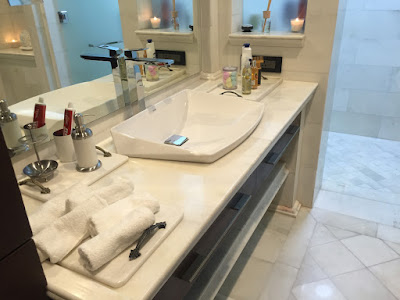 Use of granite in bathroom