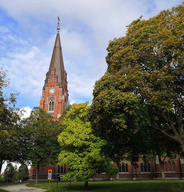 All Saints Church in Lund, Sweden Image by Atul Gaur