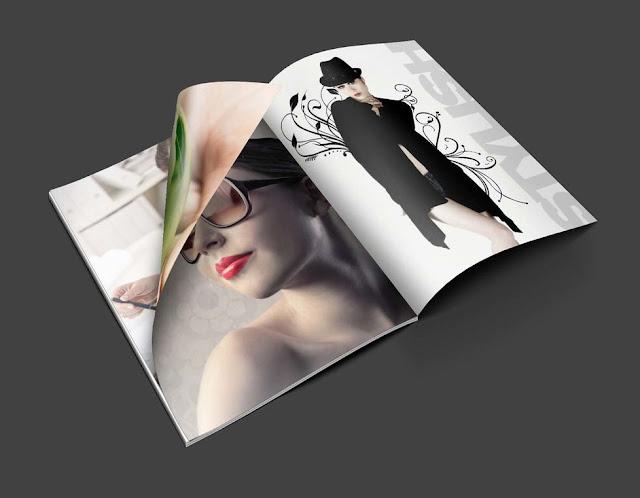 Free Magazine PSD Mockups