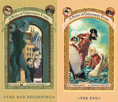 A Series of Unfortunate Events Covers