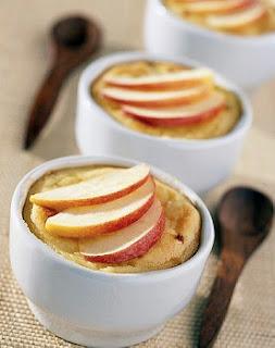 Flan de manzanas