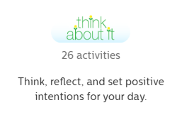 GoNoodle Think About It Activities logo and description