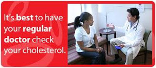 Check your health, find out about cholesterol