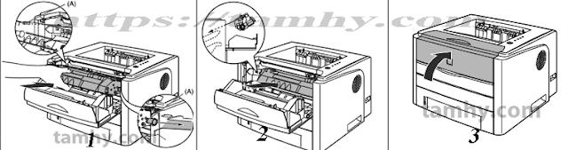 hướng dẫn Cách thay mực máy in Canon 3300 tại nhà