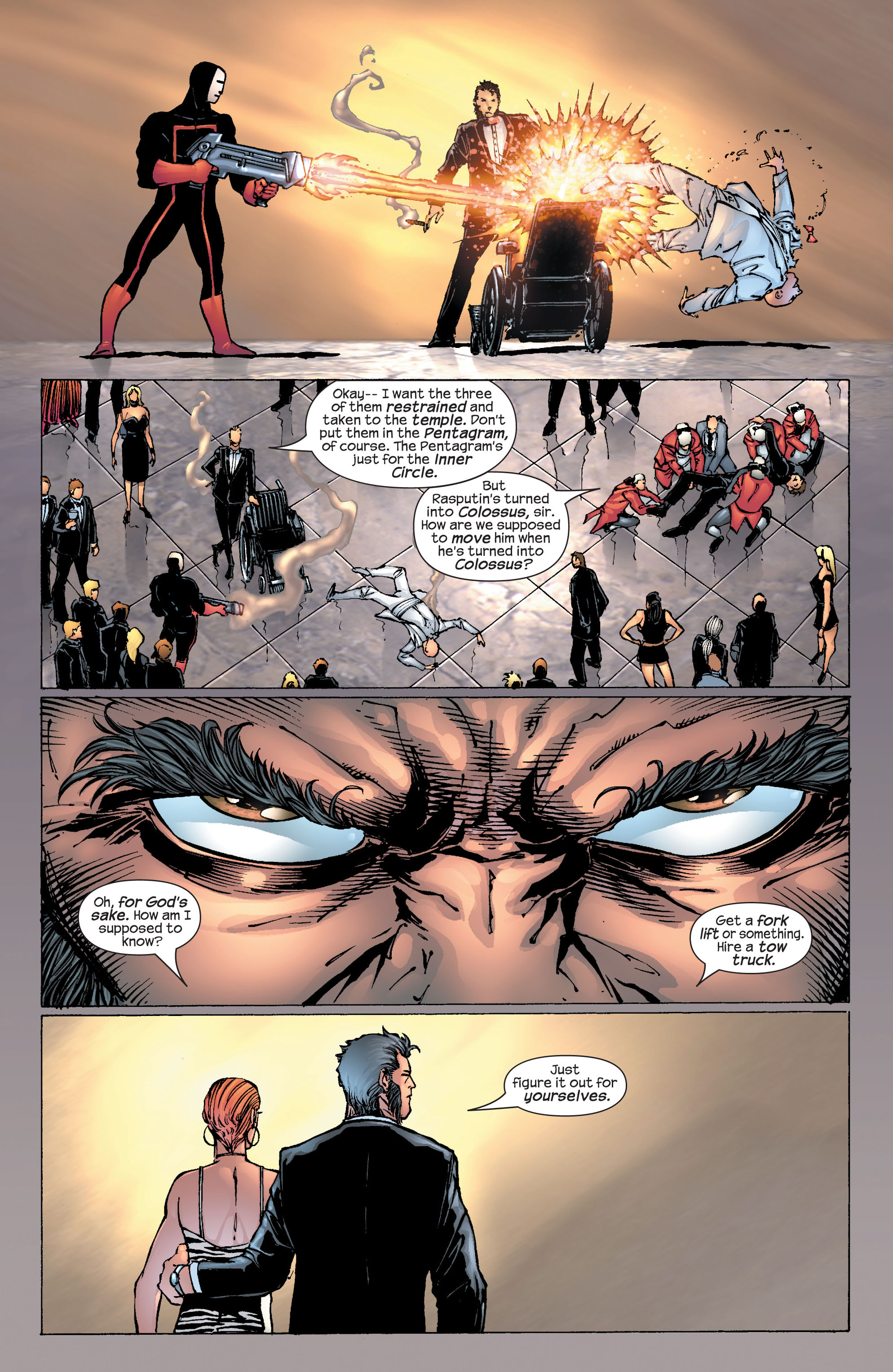 Read online Ultimate X-Men comic -  Issue #25 - 14