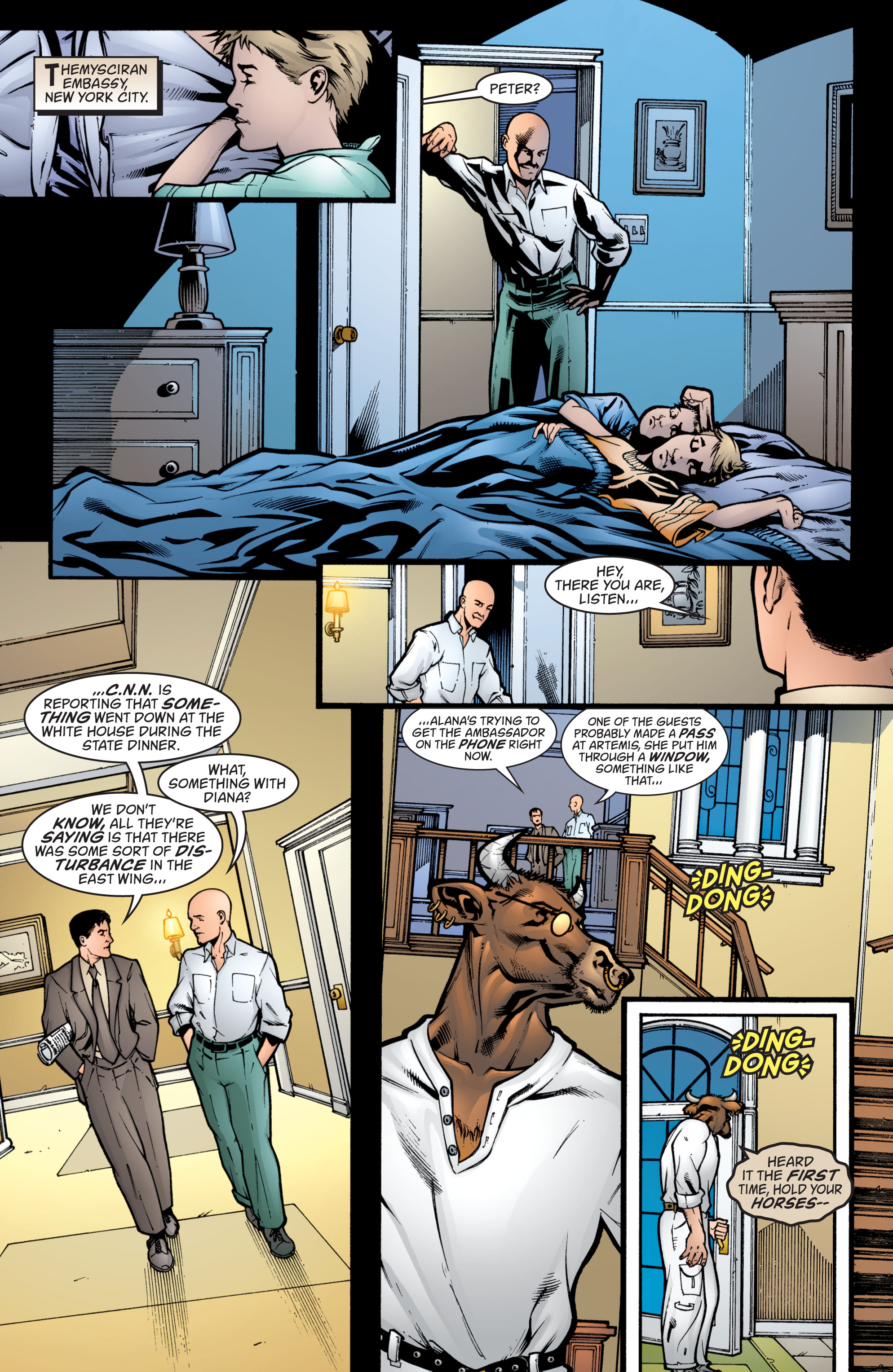 Read online Wonder Woman (1987) comic -  Issue #209 - 5